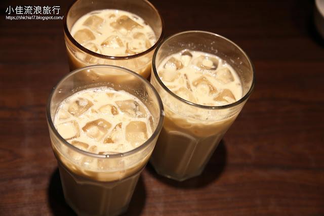 泰獅泰式料理,兼具苦香甜味的泰式奶茶