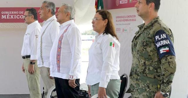 El 1 de julio de 2022 se inaugurará Dos Bocas, anuncia AMLO. Presidencia