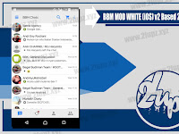 BBM MOD White (iOS) v2 Based v2.13.1.14 Terbaru