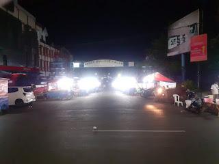 pasar kuliner malam di bengkulu