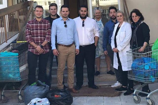 Η ΟΝΝΕΔ Αργολίδας παρέδωσε πλαστικά καπάκια στο Γηροκομείο Ναυπλίου για την απόκτηση αναπηρικού αμαξιδίου