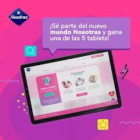Promoción: Nosotras Gana: 05 Tablets Huawei