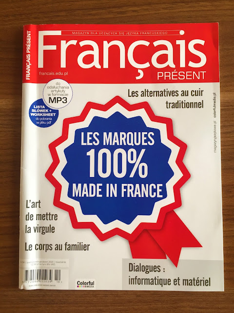 Français Présent 54/2020 - okładka czasopisma - Francuski przy kawie