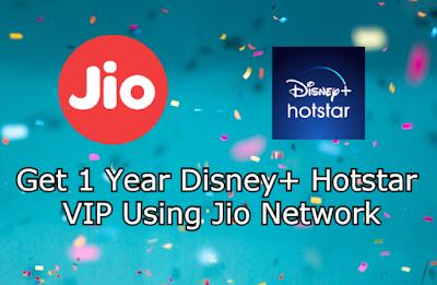 Get Hotstar VIP Free Using Jio