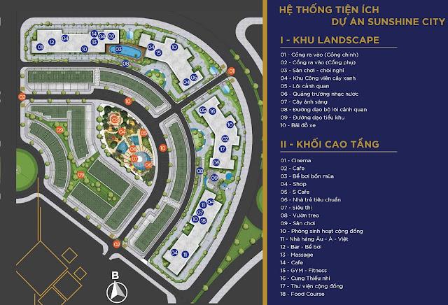 Chủ đầu tư mở bán dự án Chung cư Sunshine City Ciputra Tây Hồ biệt thự sky villas duplex