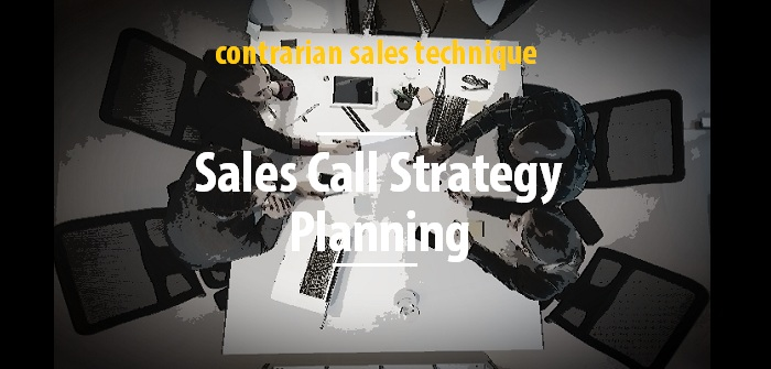 Sales call strategy planning