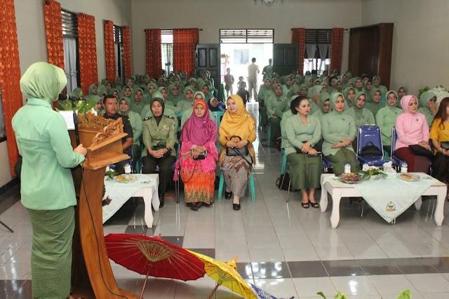 Dirgahayu Persit Kartika Chandra Kirana Ke 73 Tahun 2019 Berlangsung Meriah