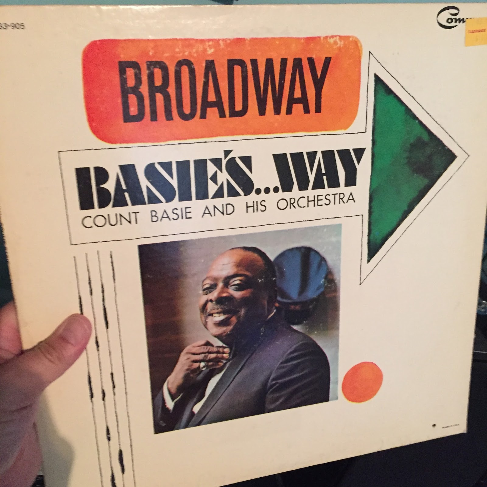 Kansas City To Lawrence Vinyl Records Count Basie And His