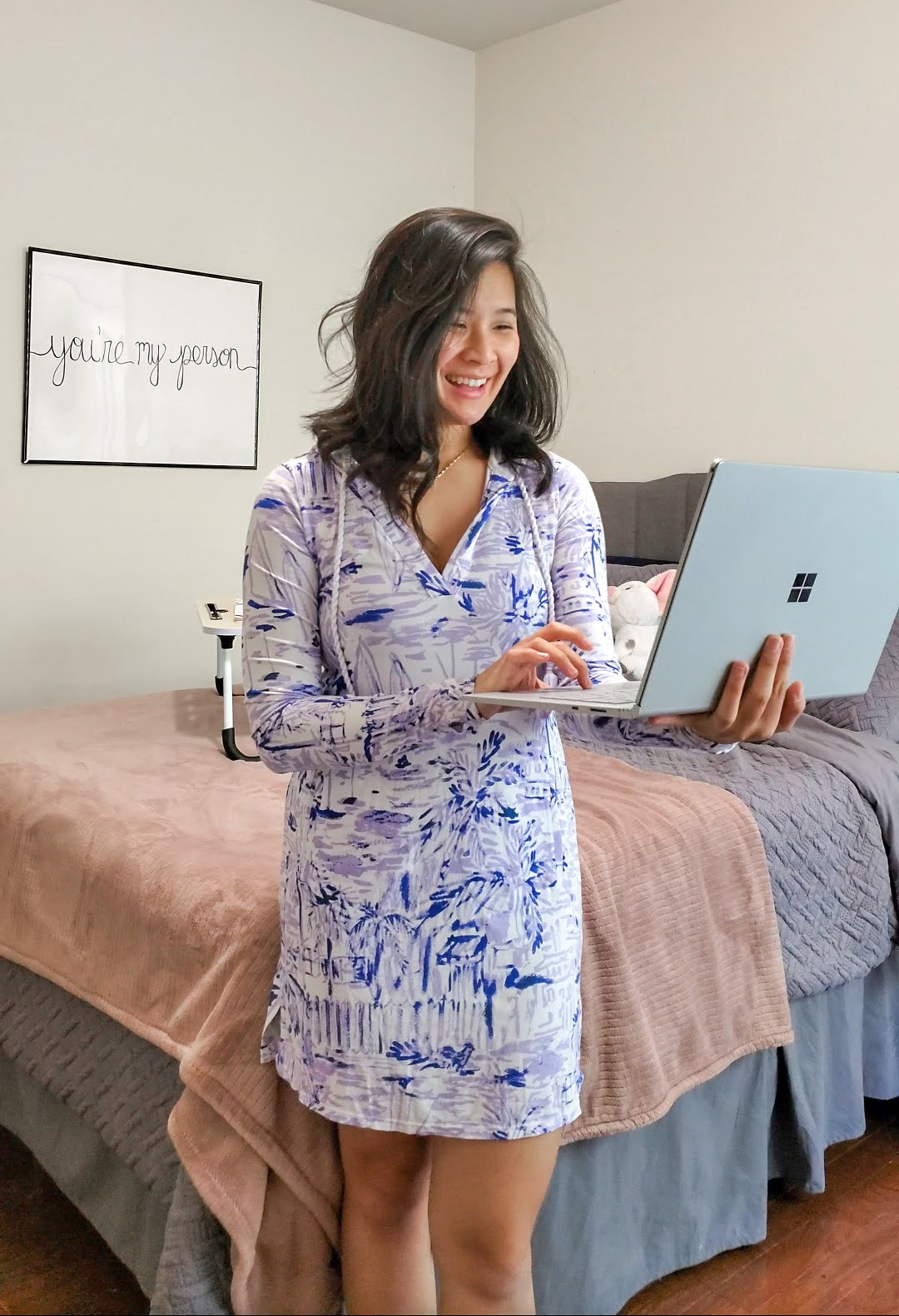 Lilly Pulitzer Work from home outfit idea