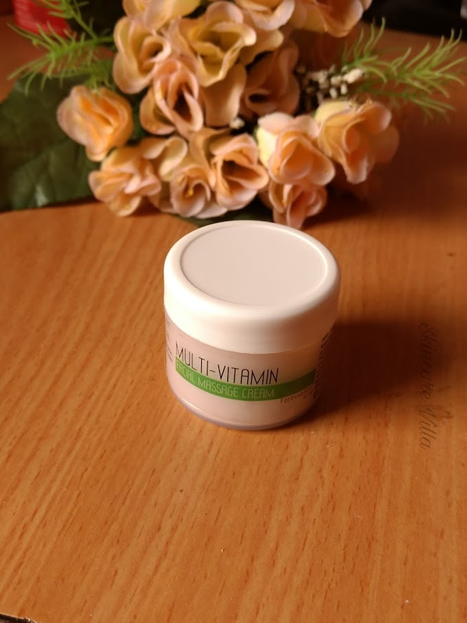 The Nature's Co Multi-Vitamin Facial Massage Cream Review