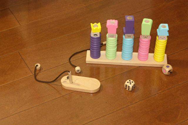成長に合わせて遊べる知育玩具リングテンであまり遊んでくれない