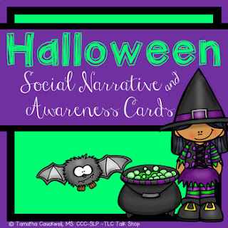 https://www.teacherspayteachers.com/Product/Halloween-Social-Narrative-and-Disability-Awareness-Cards-FREEBIE-2157562