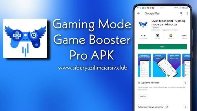 Gaming Mode v1.7.62 Pro APK