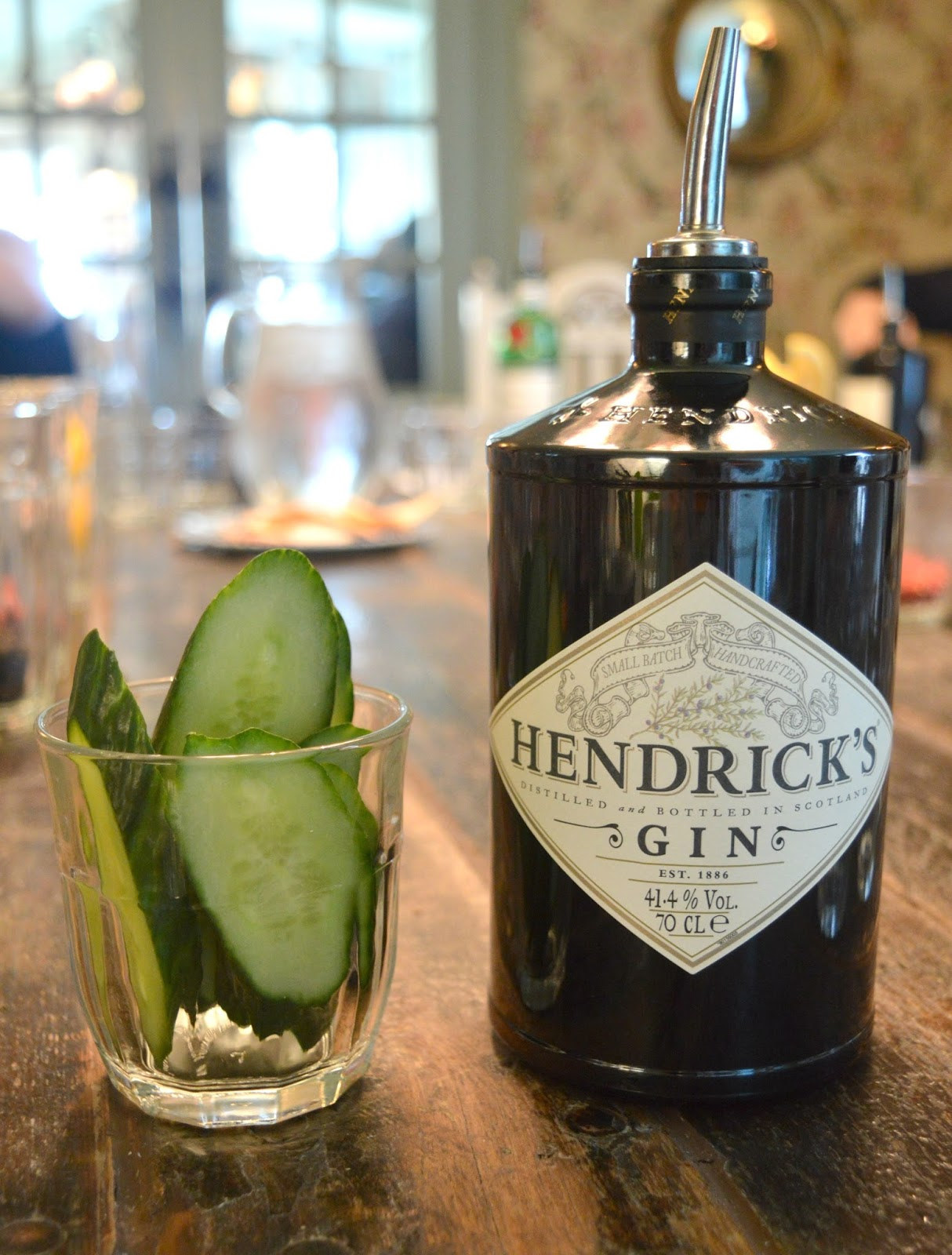 A Gin Masterclass at the Botanist Newcastle - Hendricks