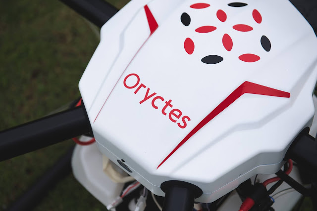 Oryctes - World's First Precision Drone For Oil Palm Plantations