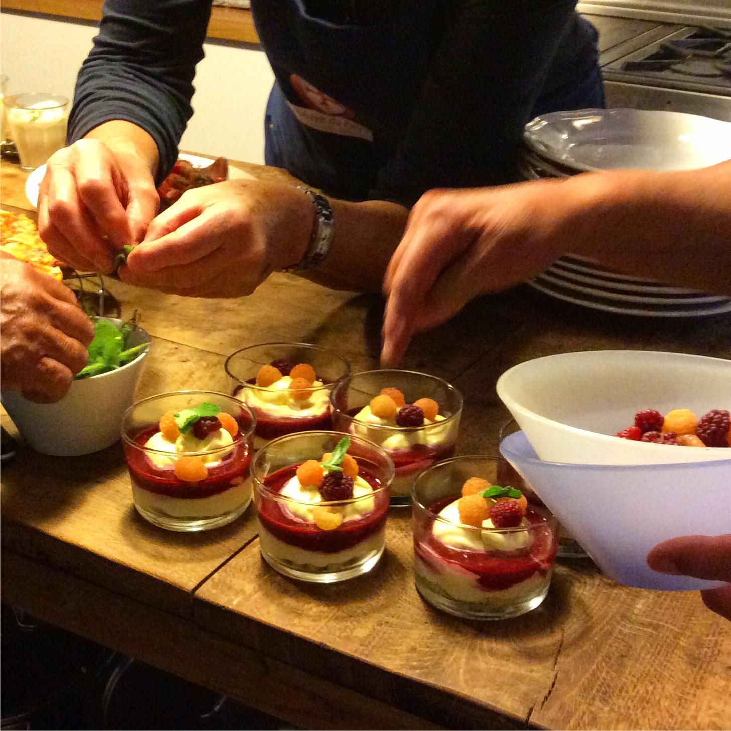 Kookvakantie in de Auvergne in Frankrijk. Kookcursus en genieten van het Franse leven. Kookles in Frankrijk. 2020