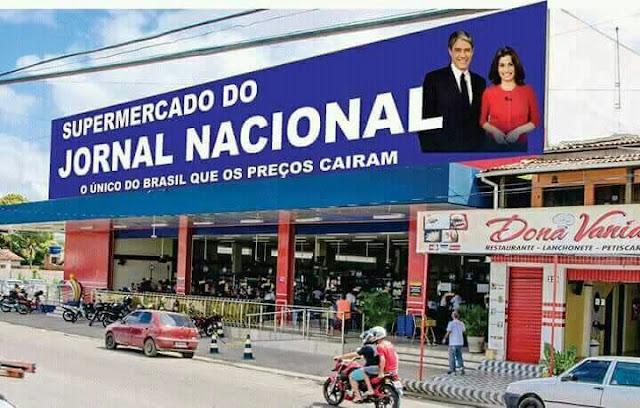 Único supermercado do Brasil que os Preços cairam - Supermercado Jornal Nacional