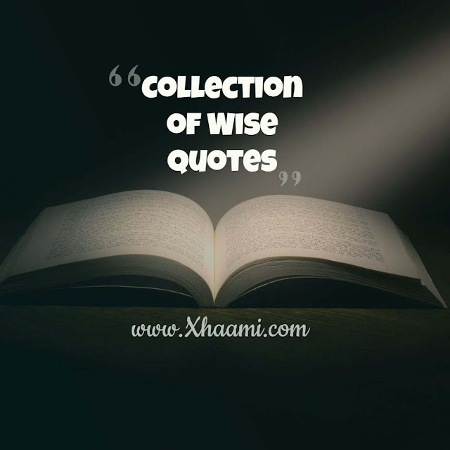 Collection of wise quotes | Wisdom Sayings
