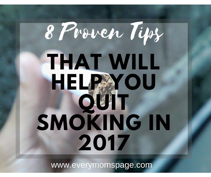 8 Proven Tips that Will Help You Quit Smoking in 2017