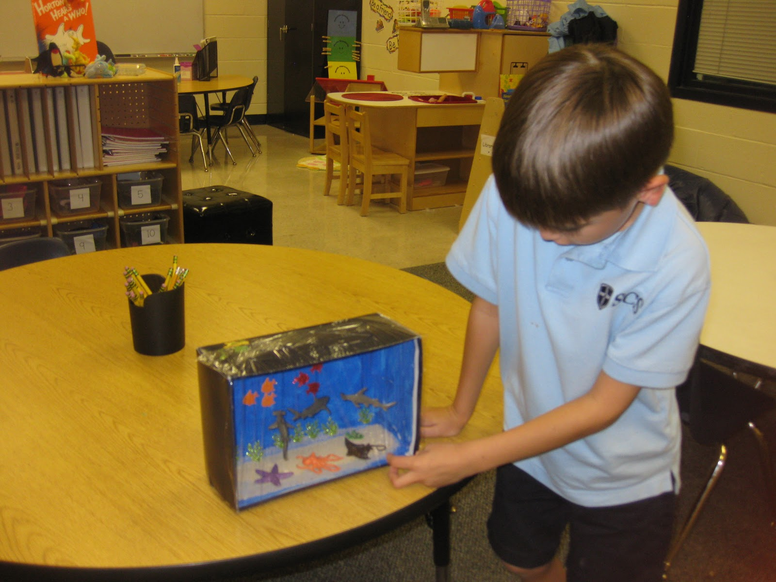 Ms Lanier S Kindergarten Class Habitat Projects