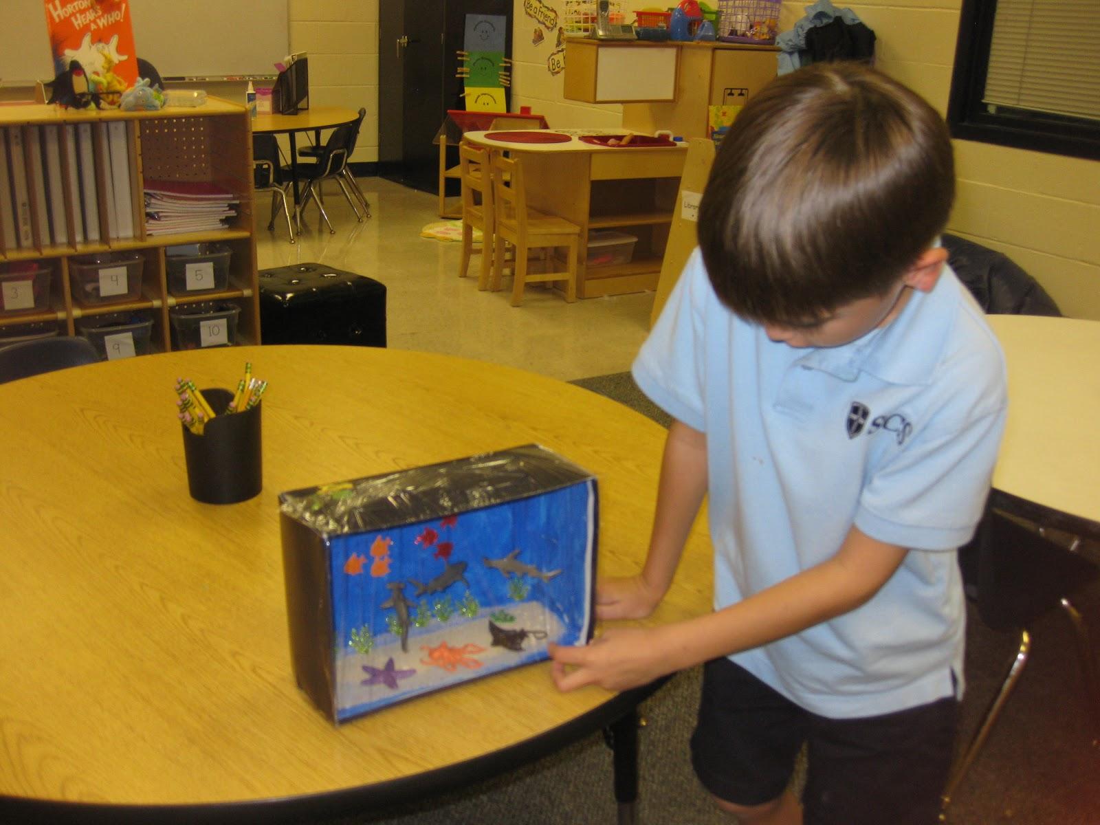 Ms Lanier S Kindergarten Class Habitat Projects