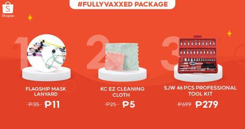 Shopee #FullyVaxxed Package