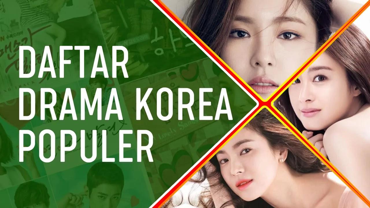 Daftar Drama Korea Populer