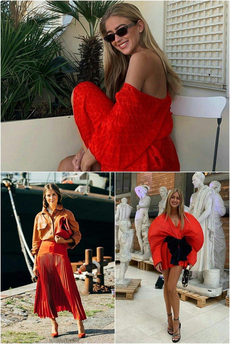 20 maneiras de usar Flame Scarlet a nova cor da Pantone para 2020