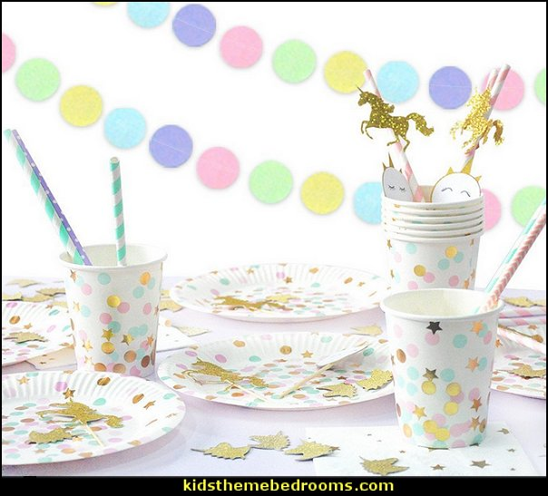 unicorn party supplies unicorns  unicorn party supplies - rainbow unicorn party decorations - unicorn birthday party - Unicorn Themed Party -  Unicorn Balloons  -  unicorrn cupcakes - rainbow decorations - Unicorn  Garlands - sequin tablecloth - tutu table skirt -