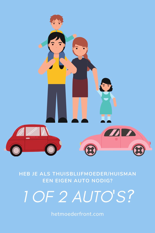 auto thuisblijfmoeder