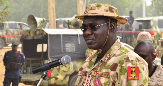 Plateau/Taraba/Benue: Killings sponsored by local, foreign collaborators to destroy our unity – Chief of Army Staff Lieutenant General Tukur Buratai Says