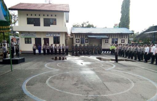 """Kapolres Pimpin, Apel Gelar Pasukan """"Mantap Praja 2018"""""""