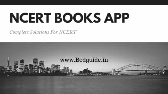 What is the best app for the NCERT? Get Complete Solution