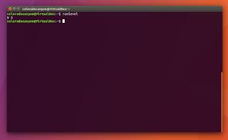 Nivel de ejecución en Linux Ubuntu