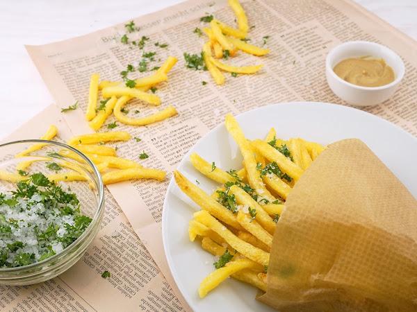 Como fazer batata frita sequinha