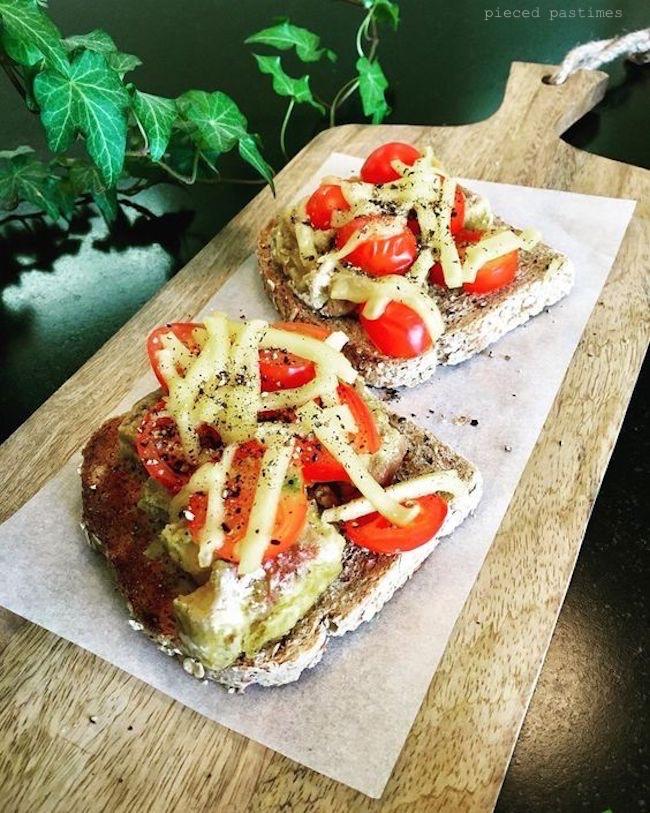 Vegan Loaded Toast 6 Ways, Cherry Tomato Toast, Vegan Toast, #ttoasttuesday