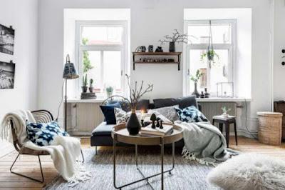 Ruang tamu sekaligus ruang keluarga