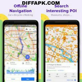 OsmAnd+ – Offline Maps, Travel & Navigation Mod Apk v3.9.3 [OsmAnd Live]