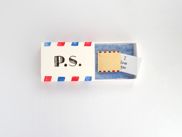 diorama matchbox card