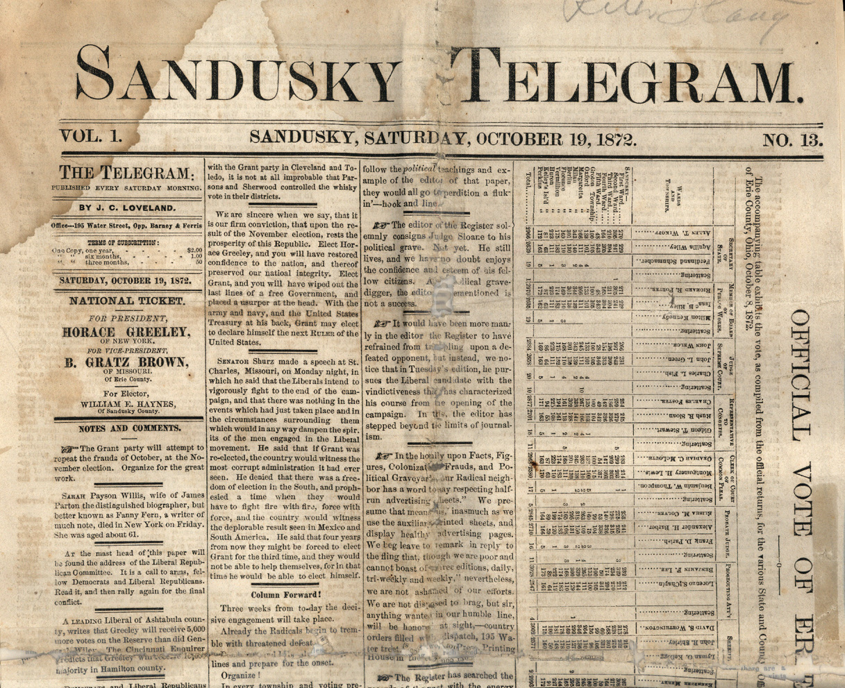 19Th Century Newspaper Template