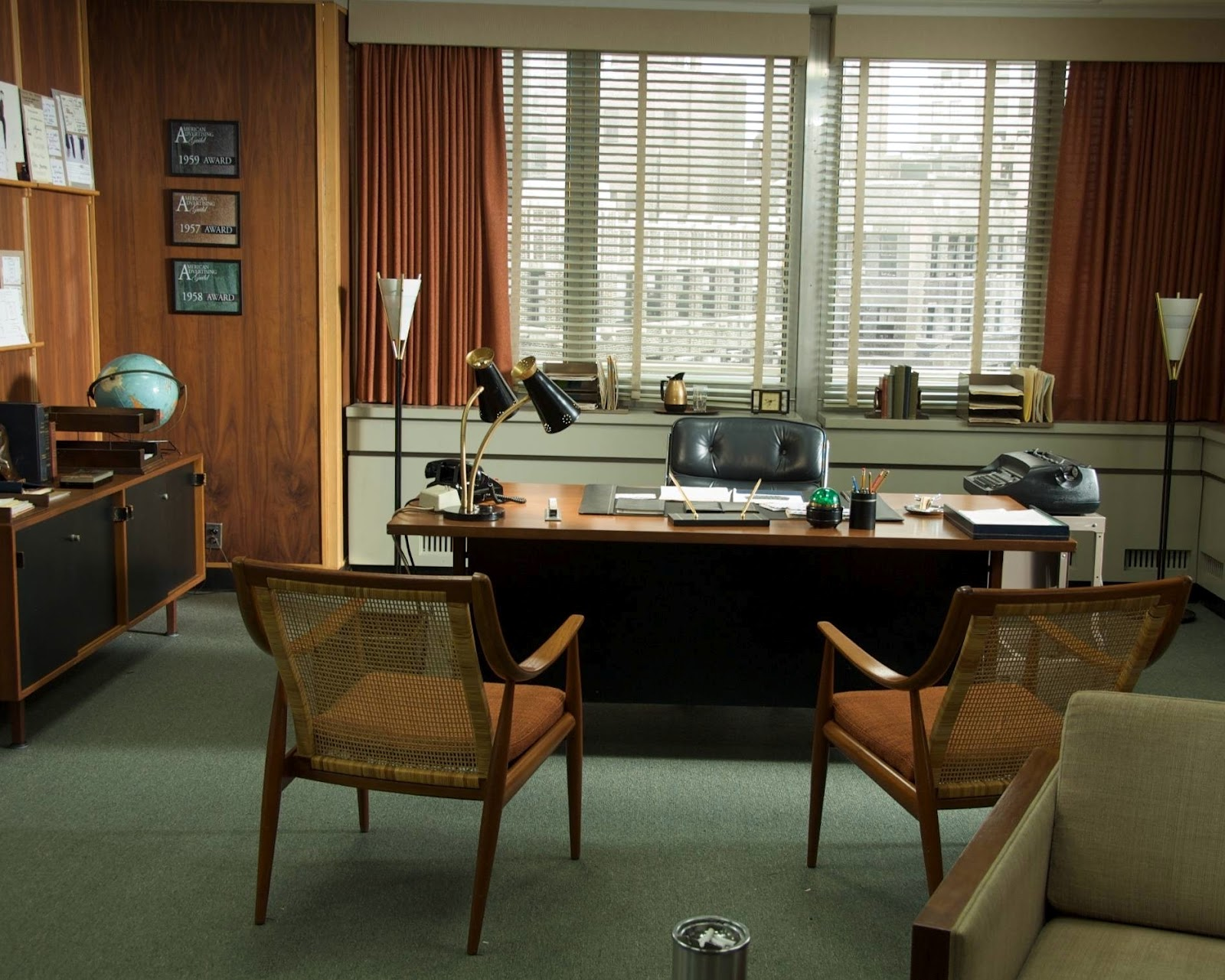 Orsa Maggiore Vintage Office Furniture Ideas Not Only For Med Men Fans