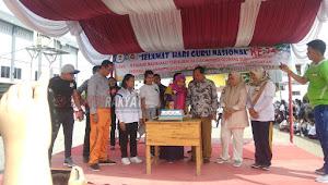 Ratusan Calon Guru Milenial Dari Fakultas Keguruan dan Ilmu Pendidikan Universitas Prima Indonesia Rayakan Hari Guru Nasional Ke-74