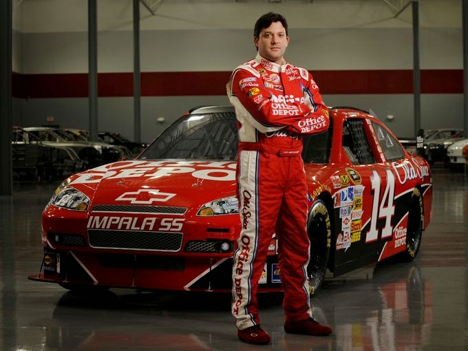 After driving for Joe Gibbs Racing for 10 years, Stewart became a team owner and driver with Stewart Hass Racing in 2009. #nascar