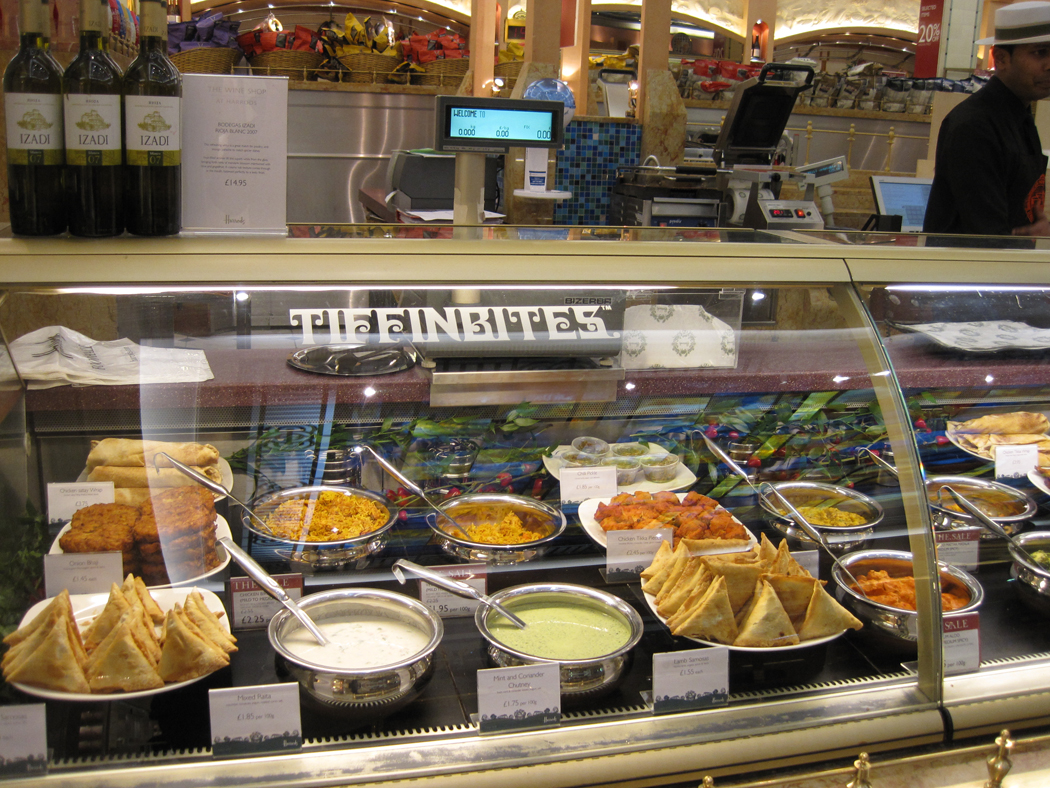 Harrods Food Hall Indian Food