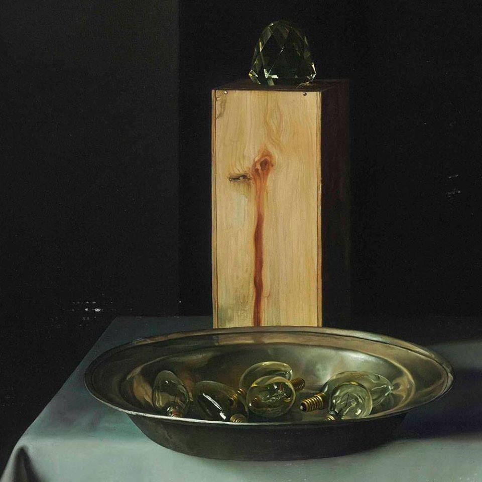 Claudio  ravo Camus Homage to Lubin  augin  detail