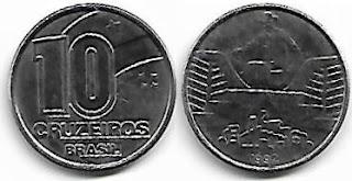 10 Cruzeiros, 1992