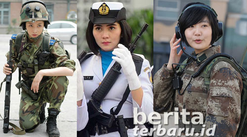 Perbandingan Kekuatan Militer Indonesia China