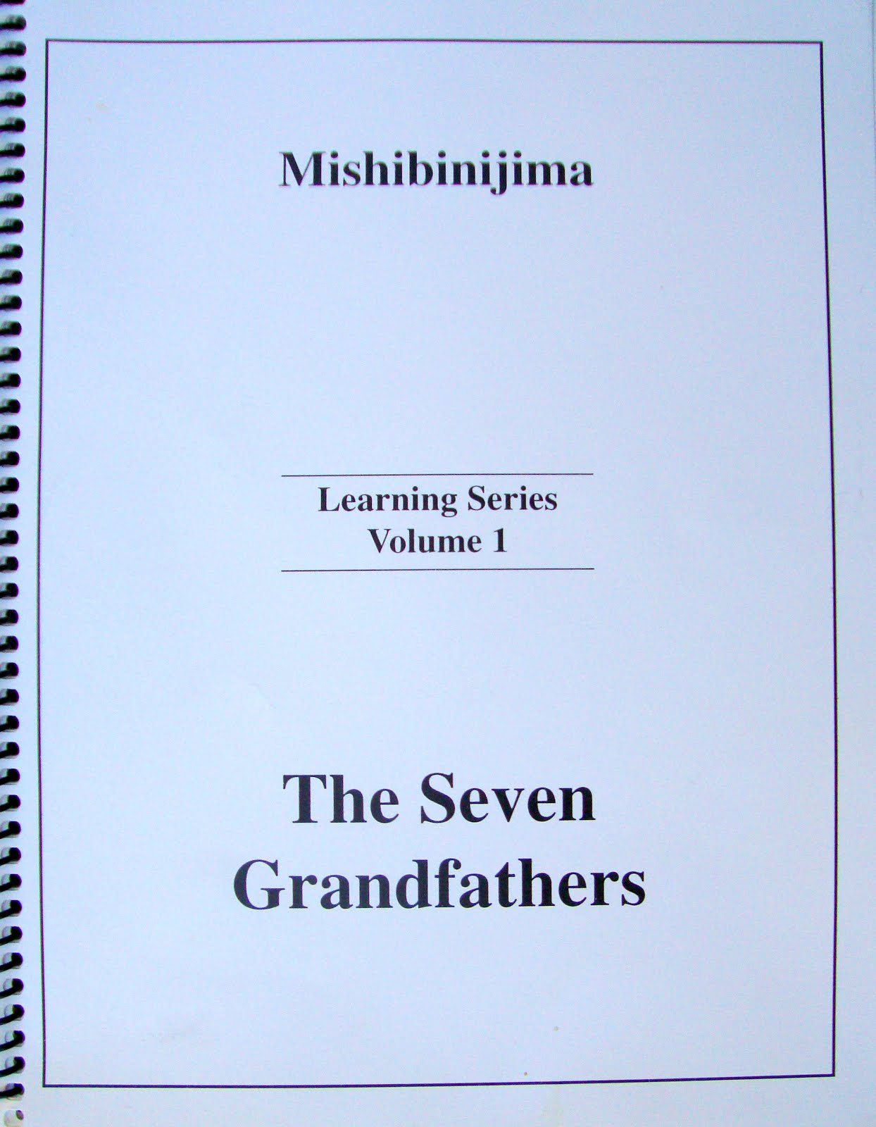 SEVEN GRANDFATHER TEACHING PUBLISHING