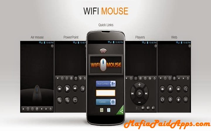 WiFi Mouse Pro v1 5 9 | MafiaPaidApps com | Download Full