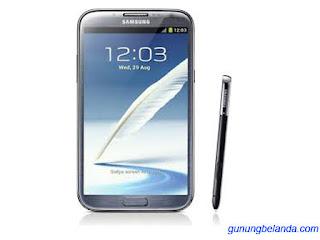 Cara Flash Samsung Galaxy Note 2 GT-N7100